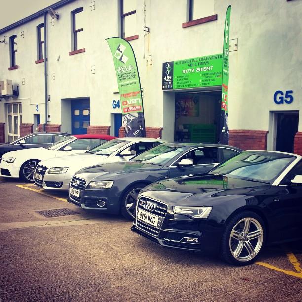 ADS Automotive Audi Garage Preston