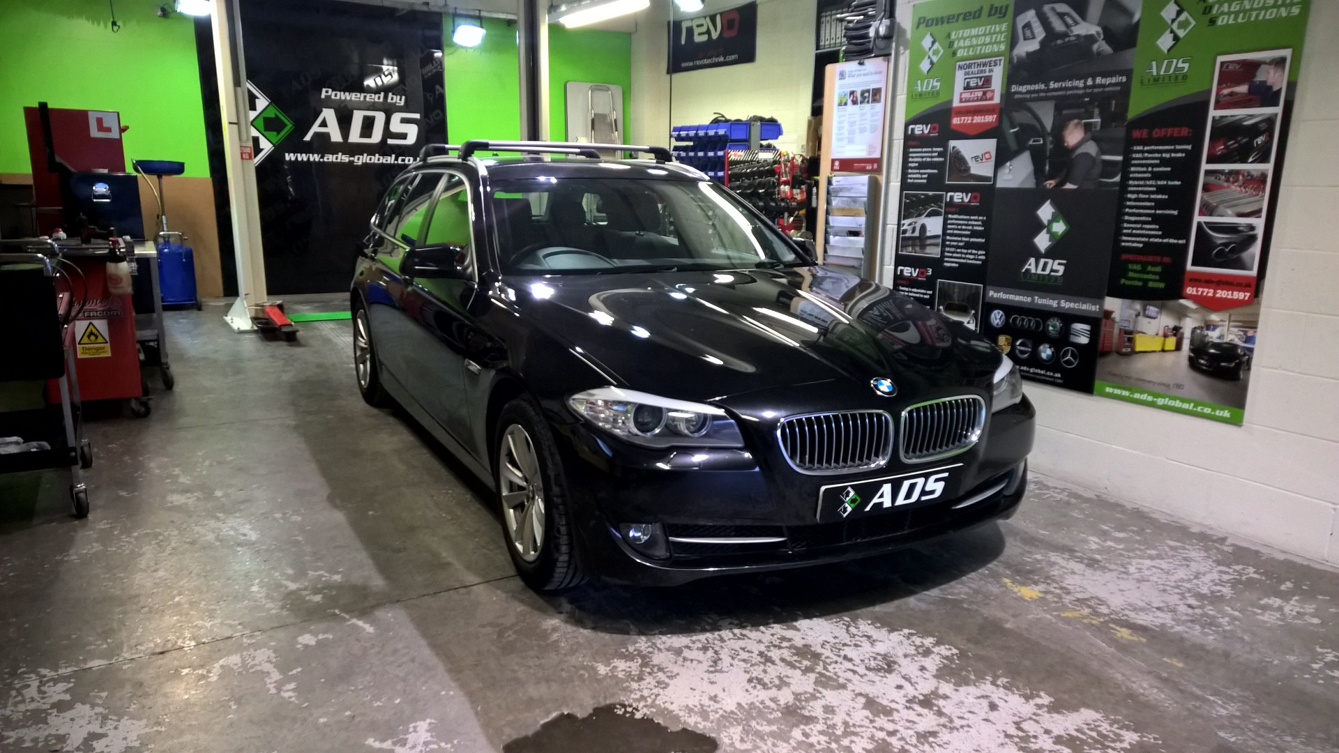 BMW servicing Preston