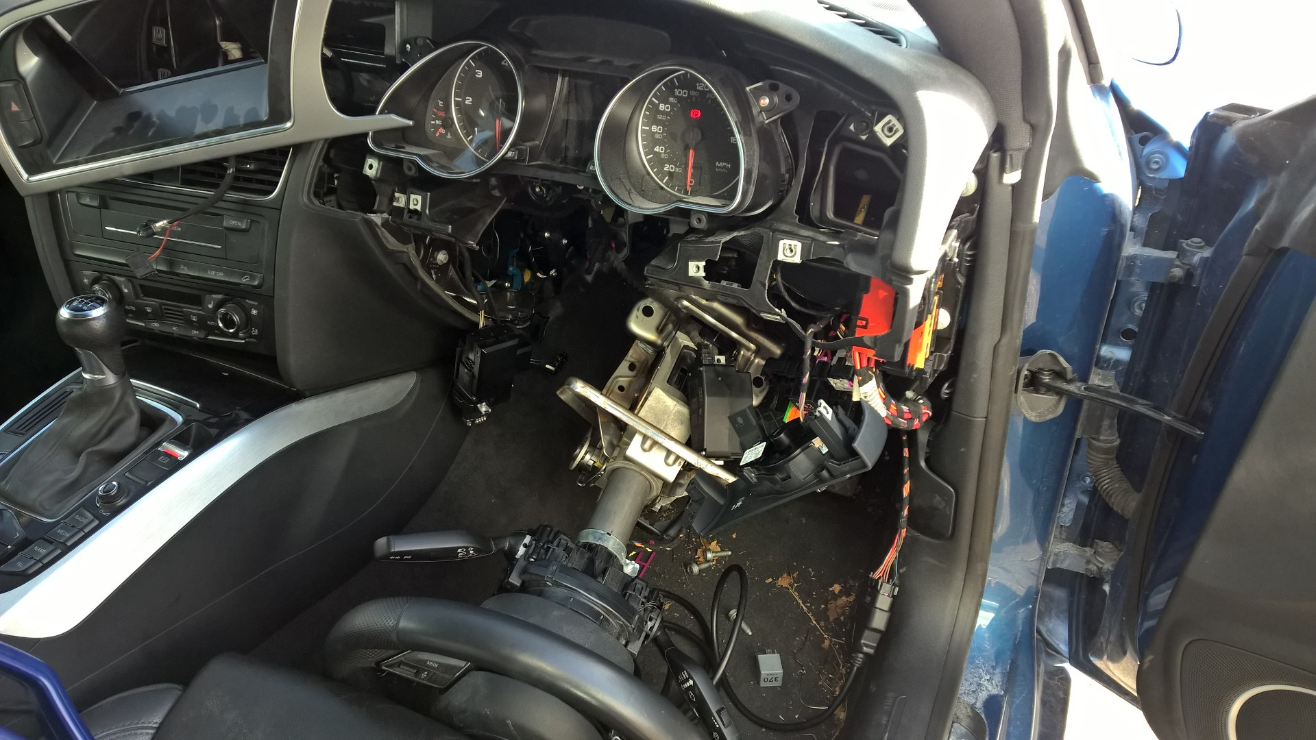 Audi A5 repair part 2 continued…