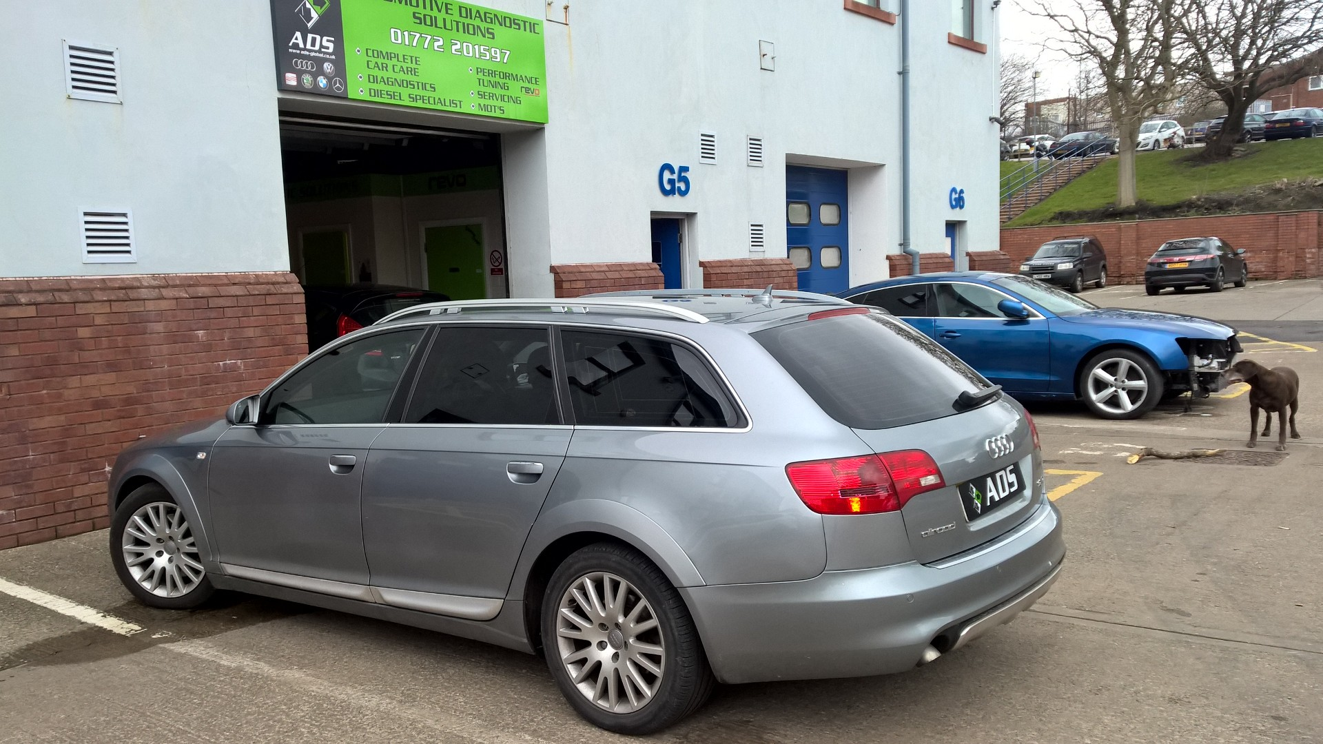 Audi A6 electrical problem diagnostics