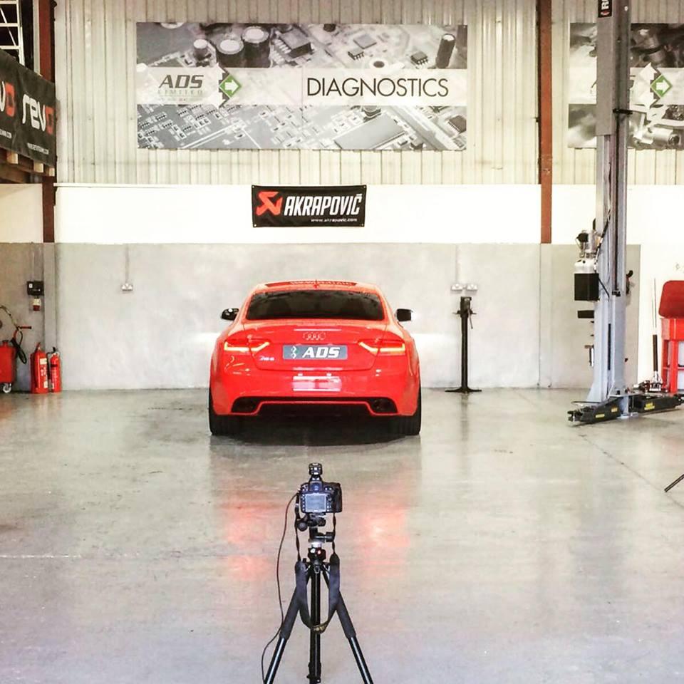 Audi RS5 Akrapovic project