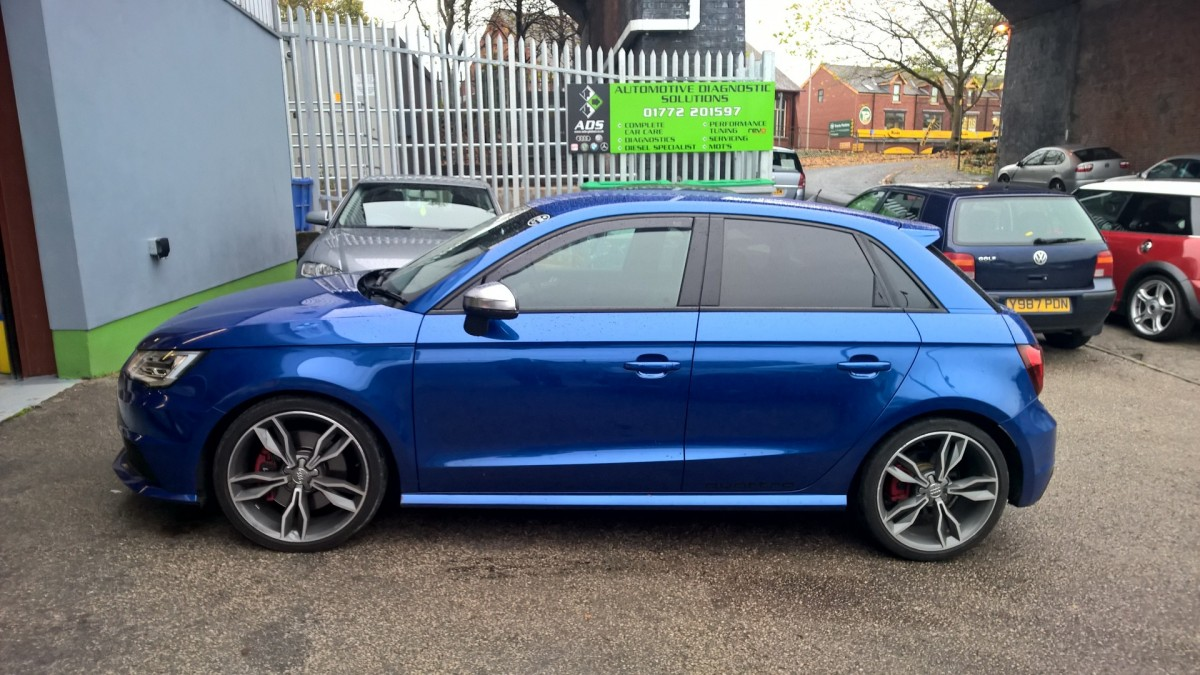 Audi S1 Pocket rocket, REVO stage 1
