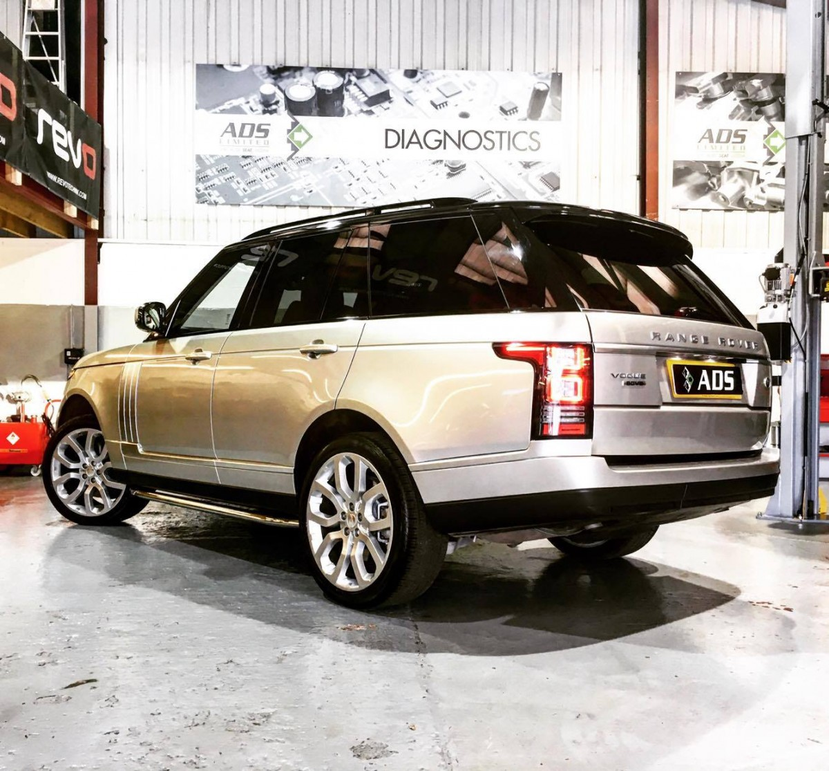 L405 Rangerover Vogue 4.4 SDV8 performance upgrade