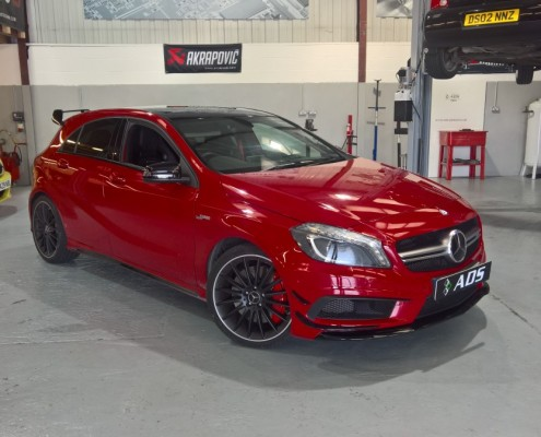 Mercedes A45 AMG stage 2 tuning