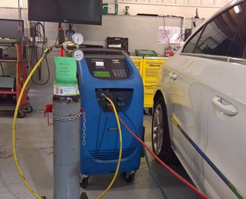 VW Passat Air conditioning repair