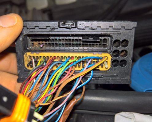 VW Touareg V10 Wiring repair