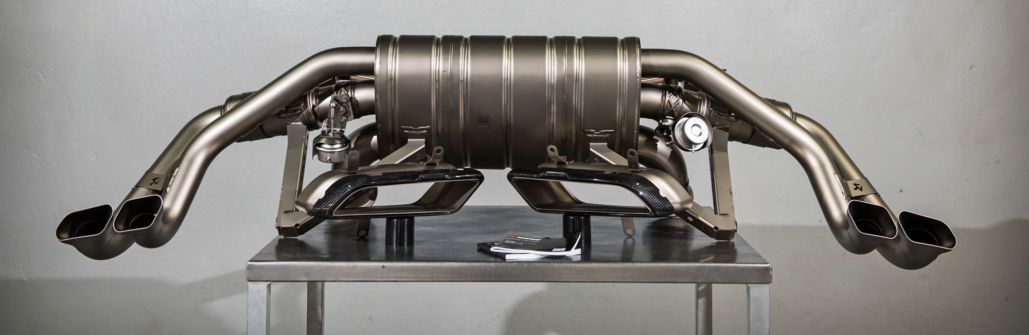 Akrapovic Exhaust technology