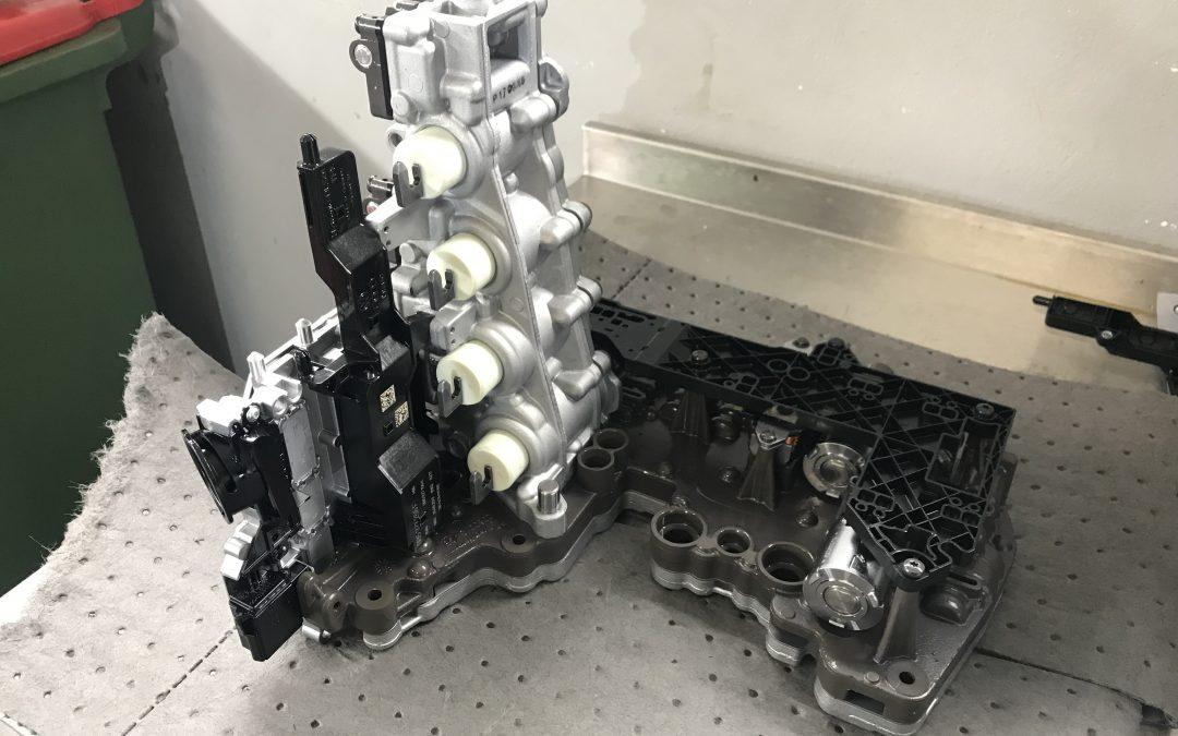 Audi A6 mechatronics module repair