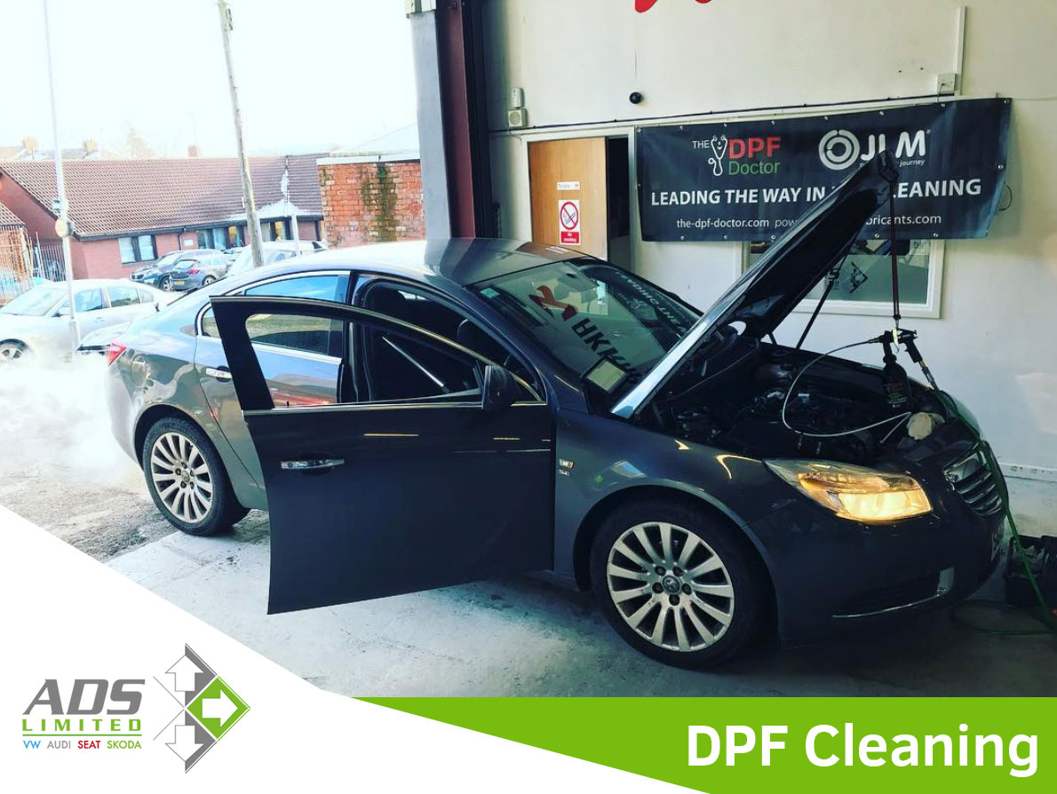 DPF Cleaning Company Preston