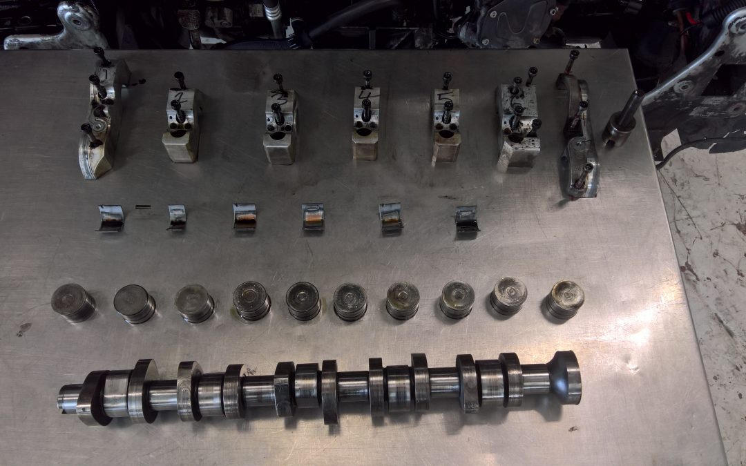 Transporter T5 2.5 camshaft and tappet wear