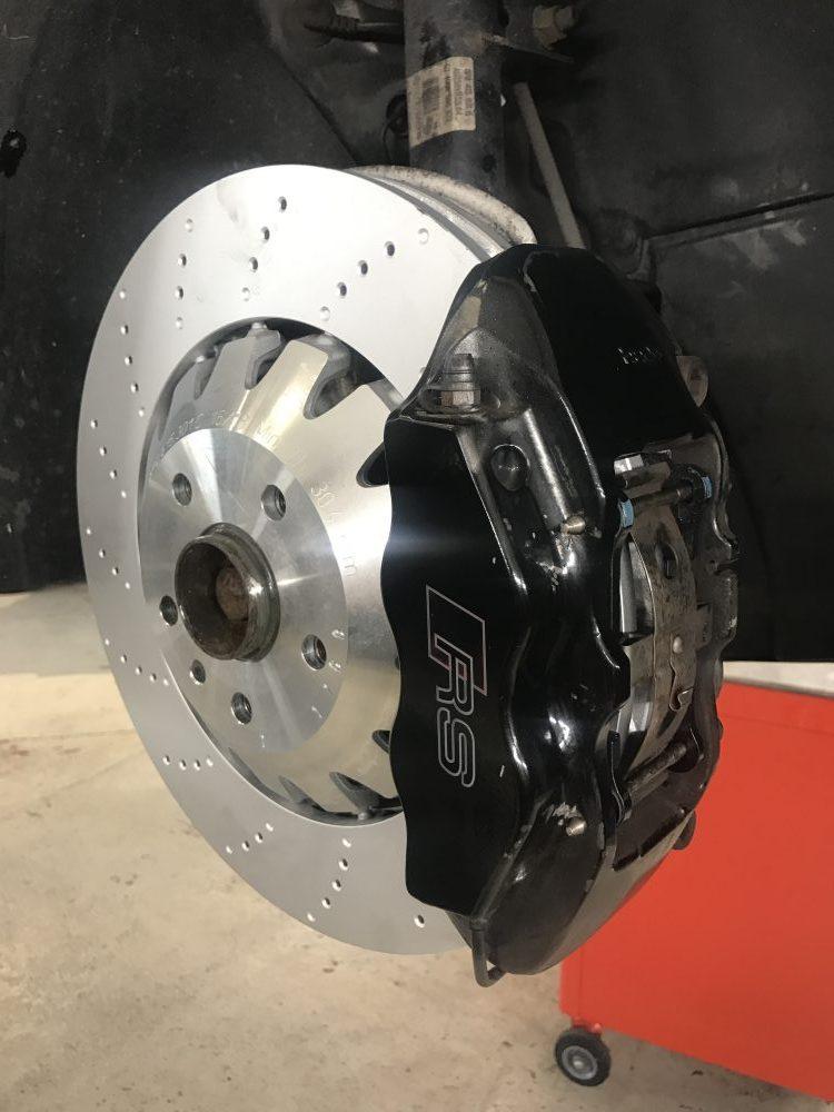 Audi RS3 brake - ADS Automotive