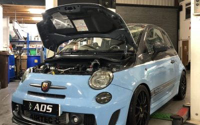 Stage 3 250bhp Fiat 500 Abarth
