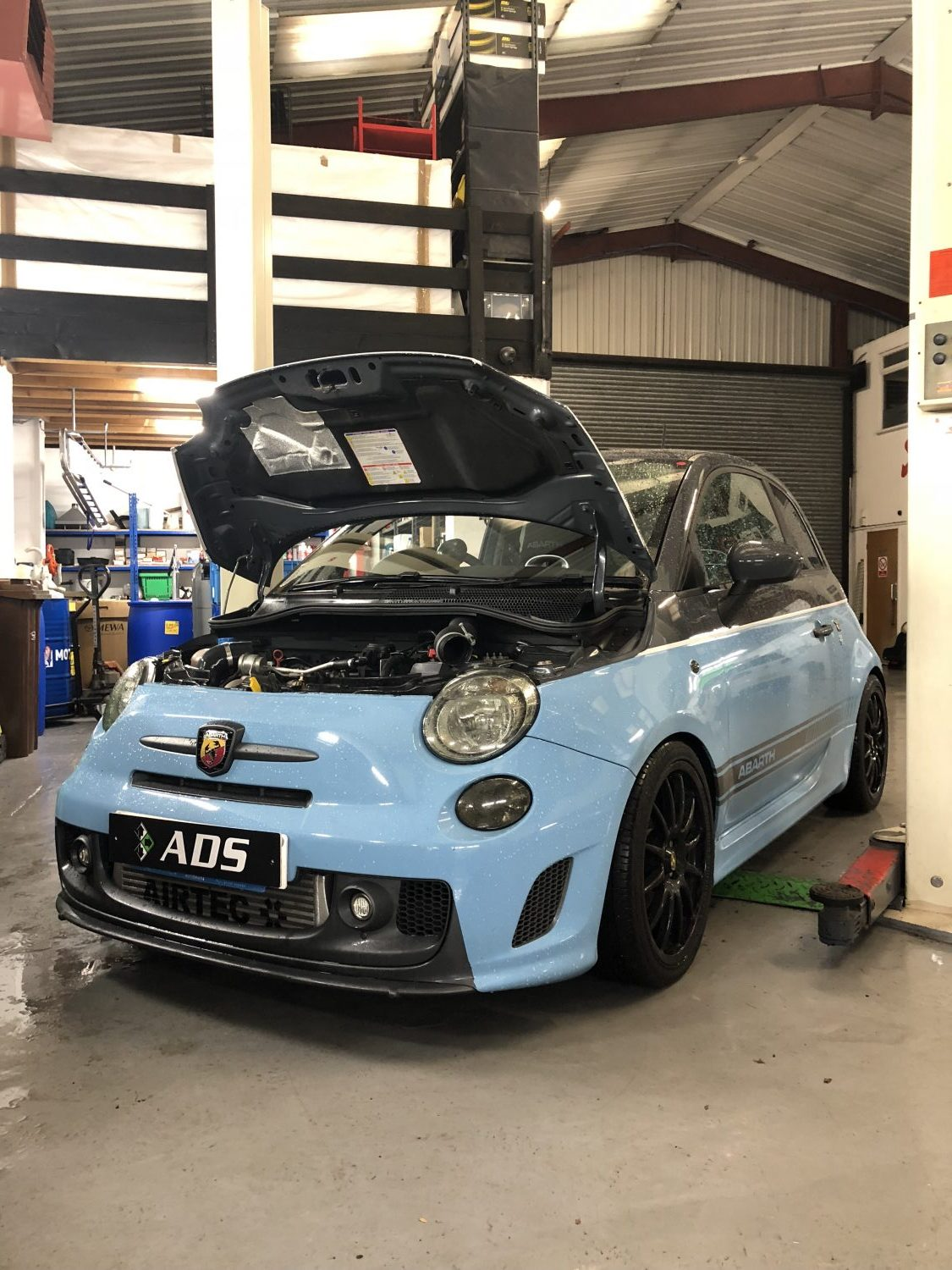 stage 3 250bhp fiat 500 abarth ads automotive. Black Bedroom Furniture Sets. Home Design Ideas