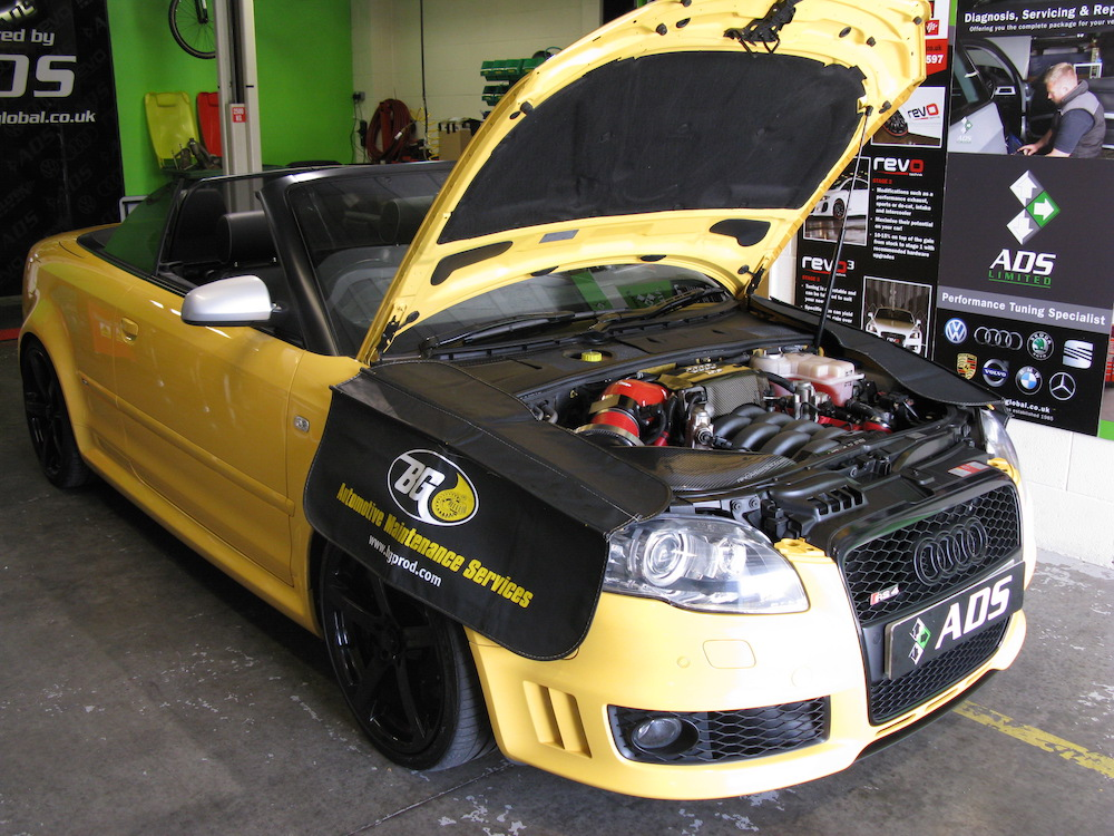 AUDI RS4 B7 inlet port valve cleaning