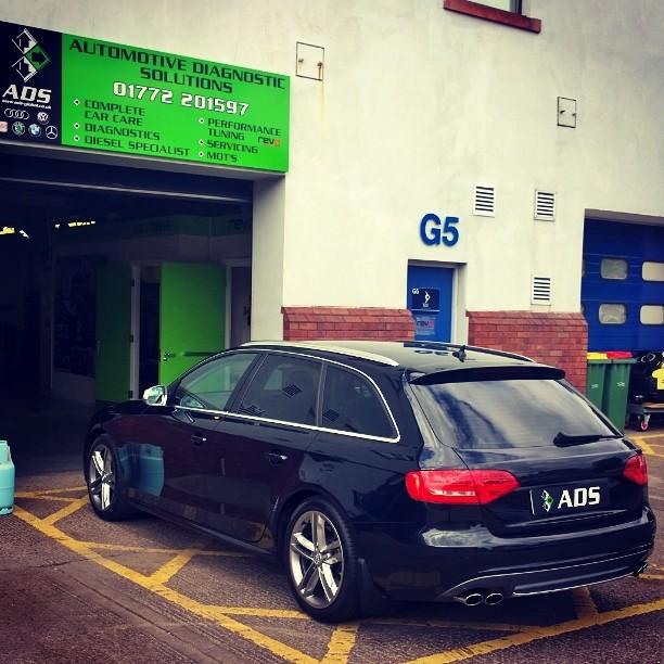 VW Audi Service Garage Preston