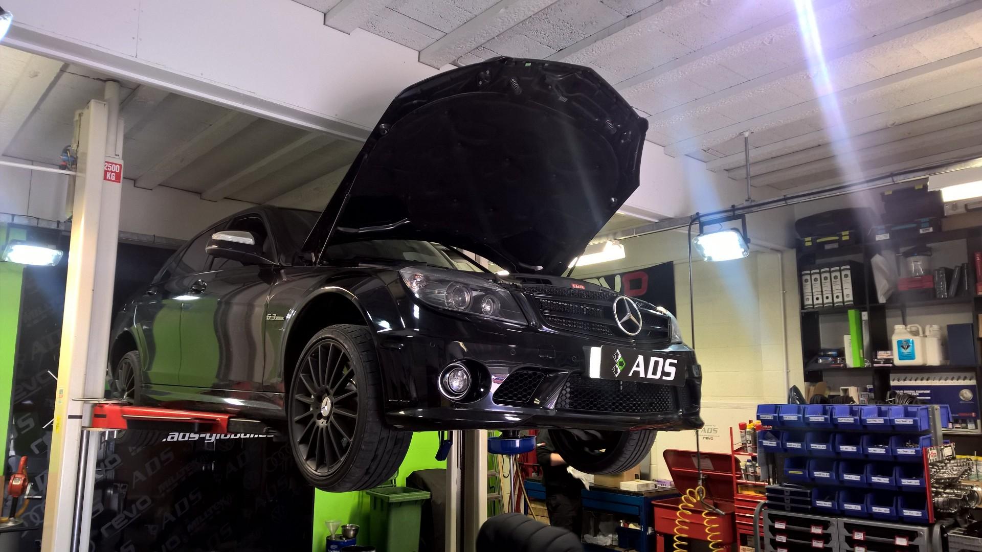 Mercedes C63 AMG gearbox service