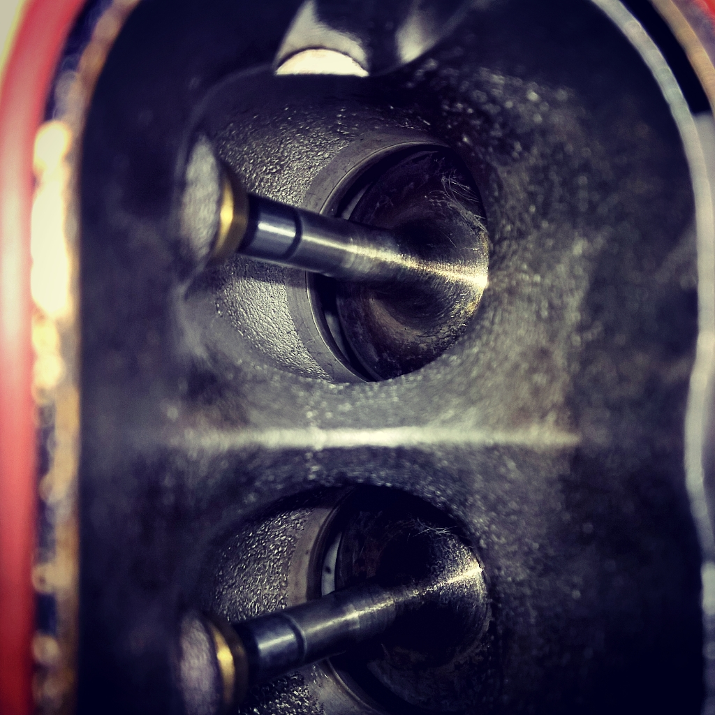 Audi RS4 inlet valve cleaning