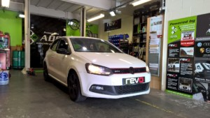 VW polo GTI 1.4tsi remapping REVO tuning