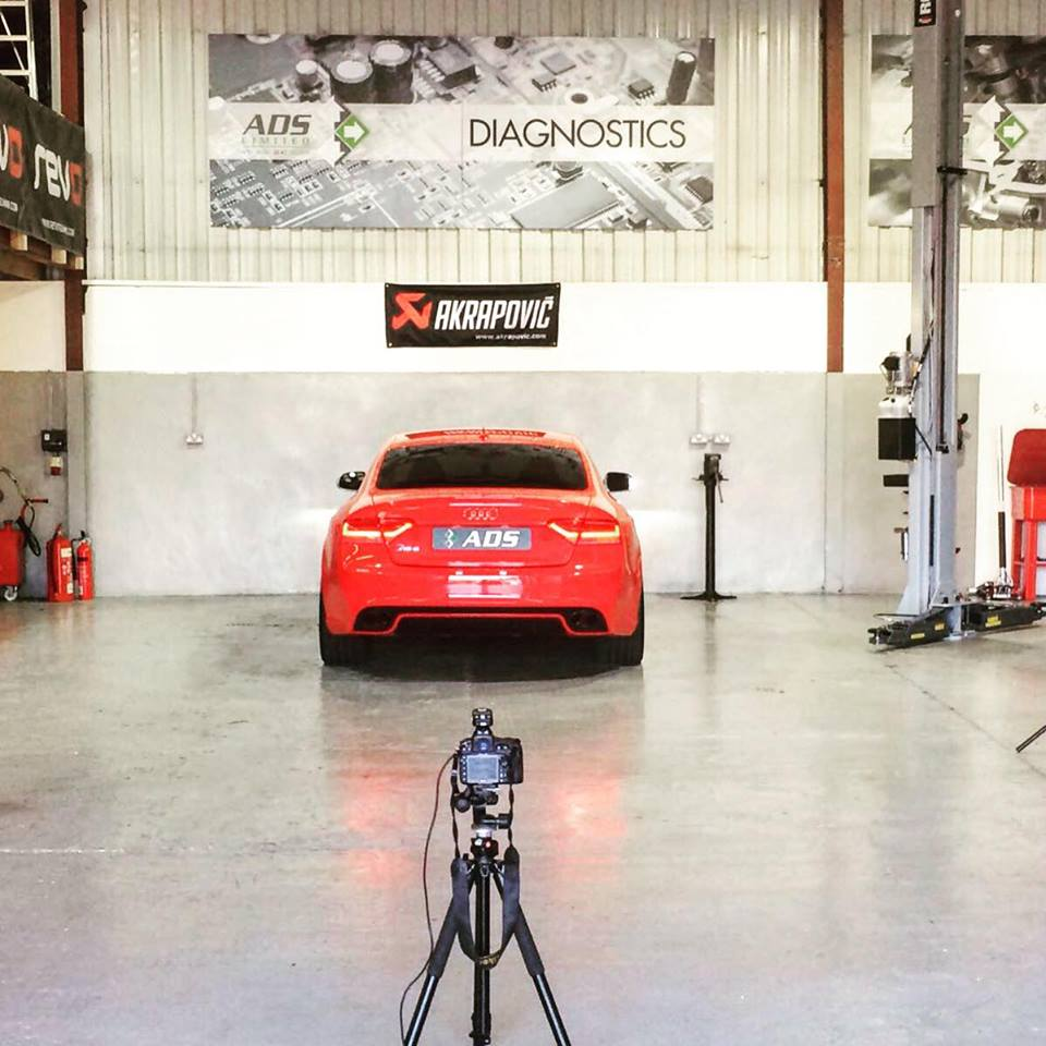 Audi RS5 Akrapovic project