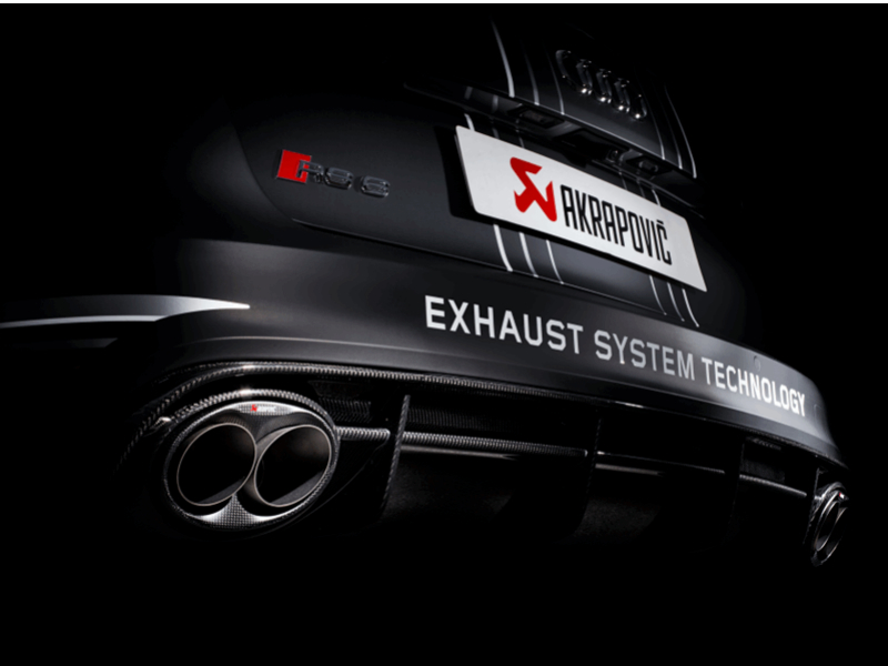ADS are now fully approved Akrapovic exhaust suppliers.