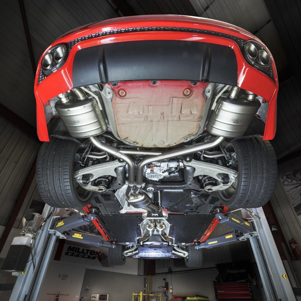 Audi RS5 akrapovic