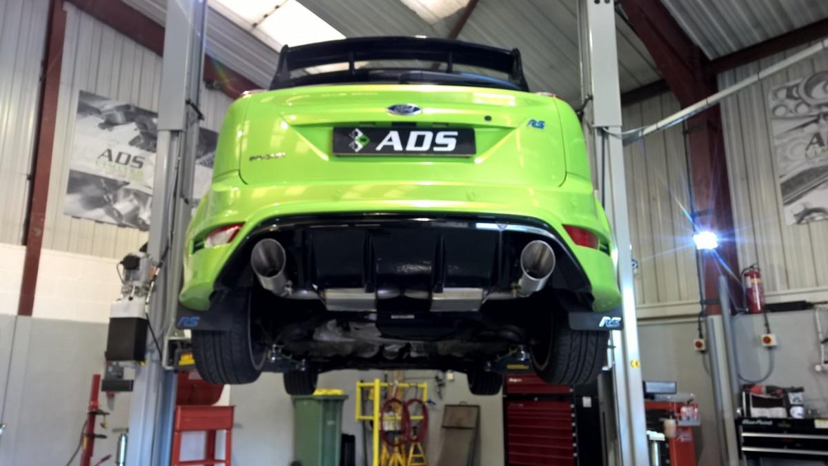 Mk 2 Focus RS tuning milltek exhaust