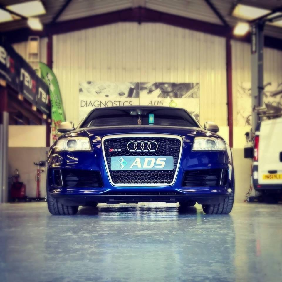 Audi RS6 avant running 700 bhp revo stage 2