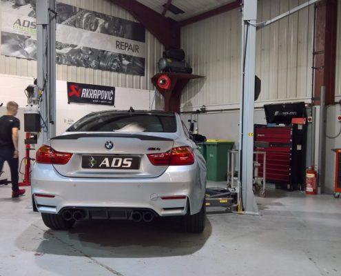 BMW M4 Akrapovic exhaust Titanium system