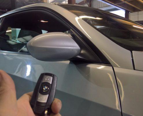 E92 BMW M3 remote folding mirrors activation retrofit