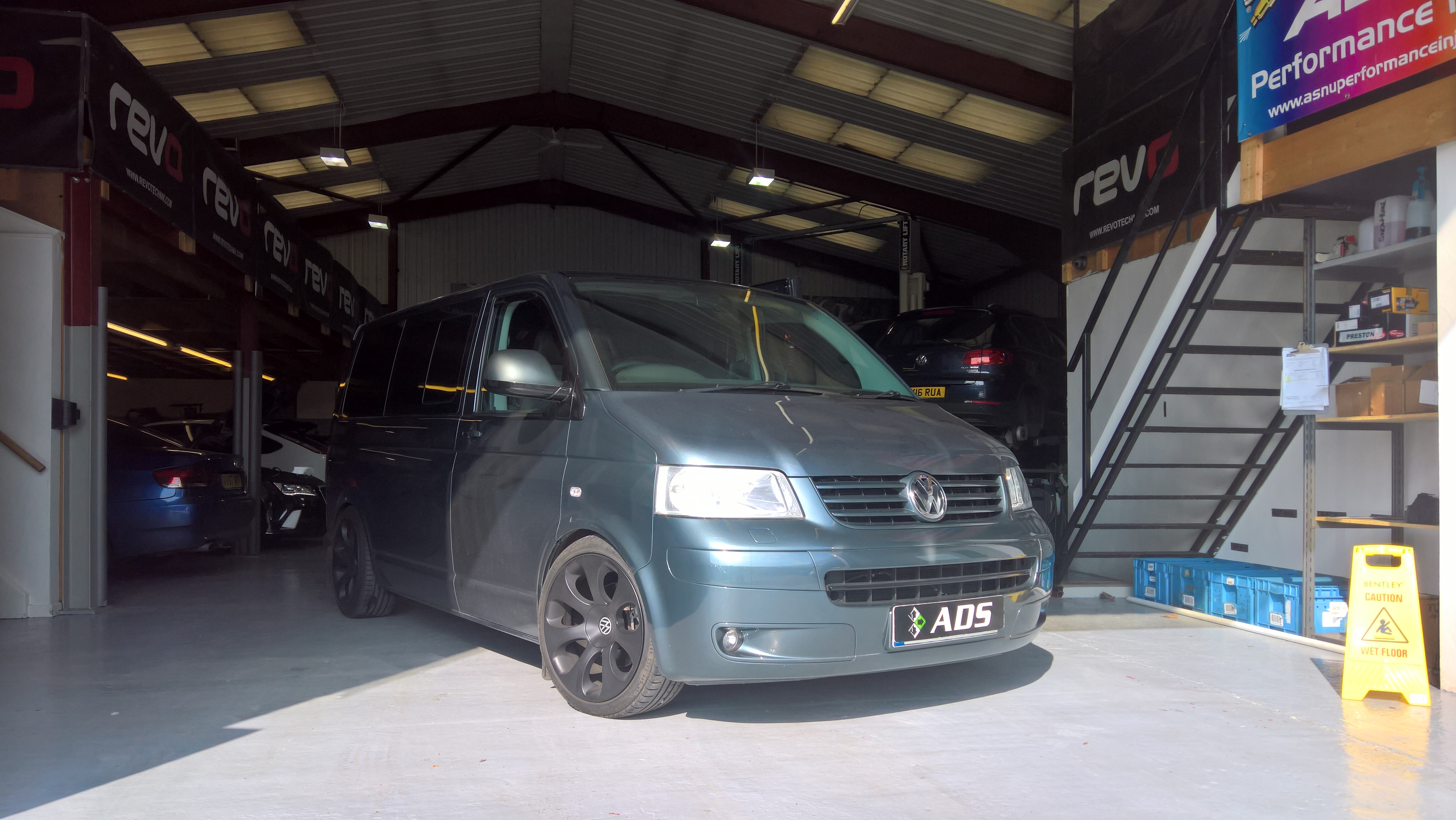 VW Transporter  130-174 conversion with Hybrid turbo and custom remap