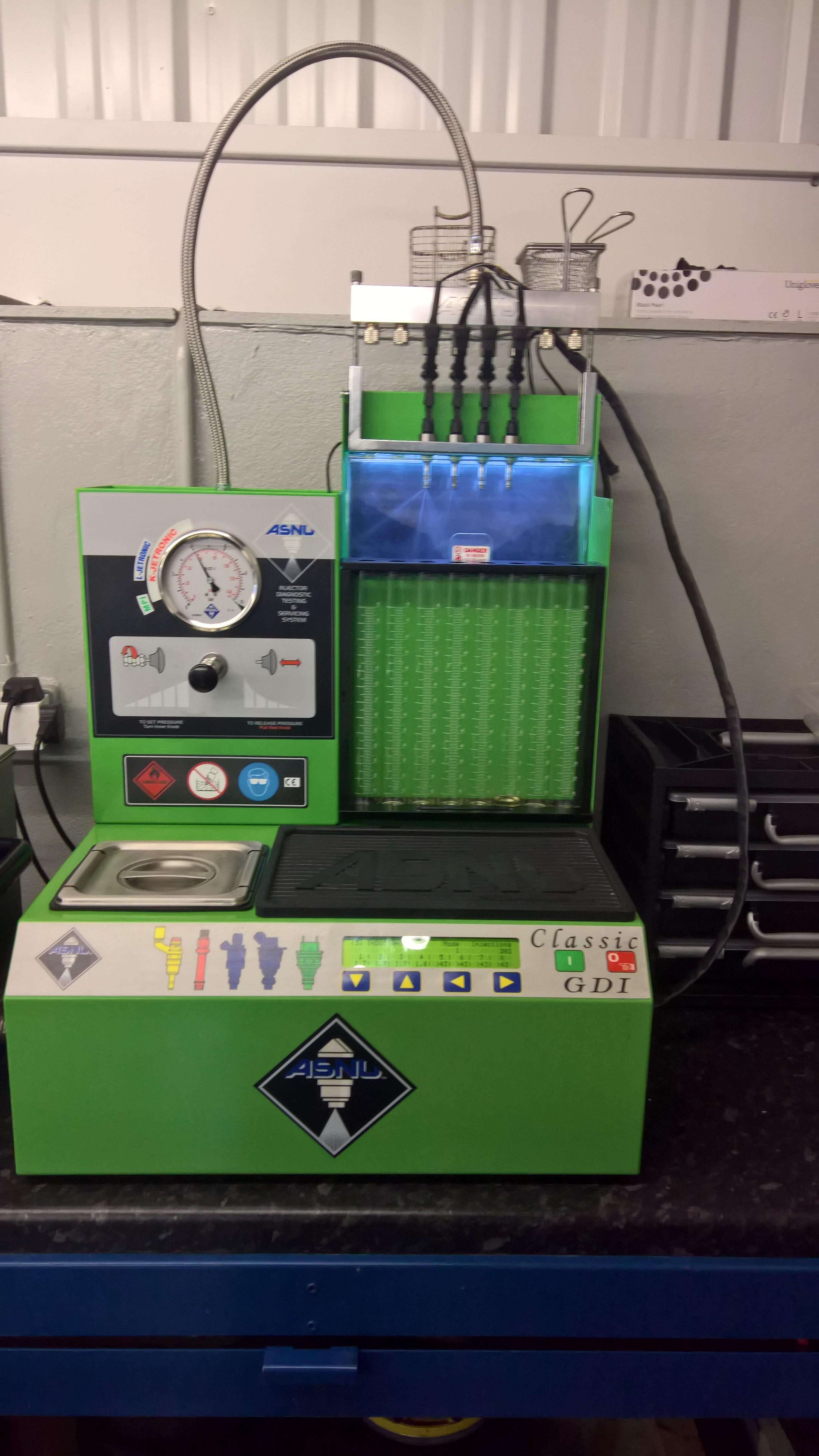 Rangerover Direct petrol injector testing