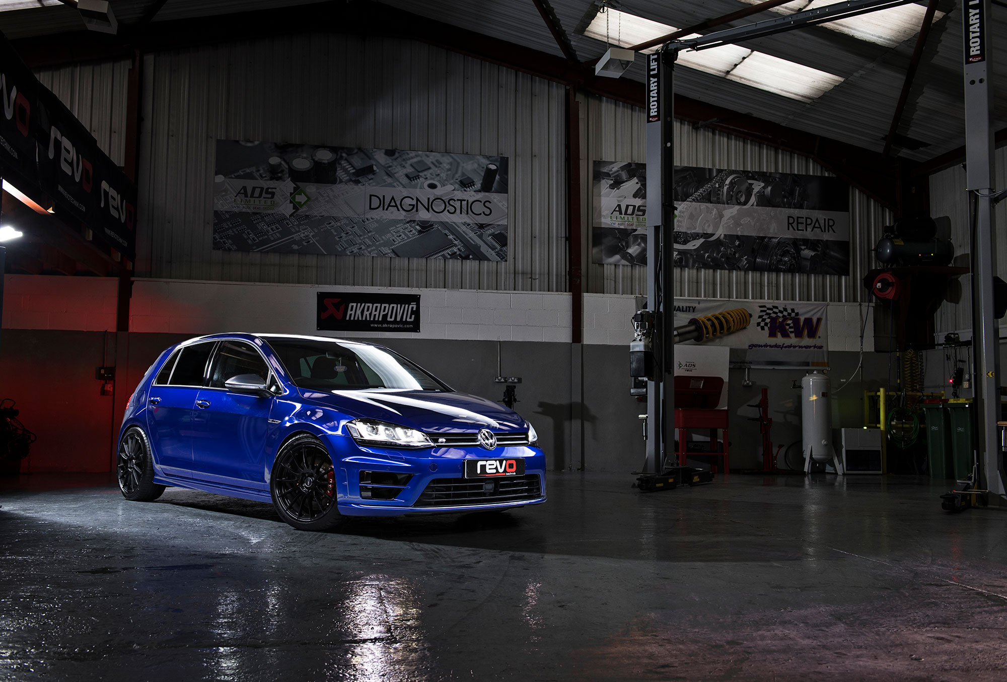 ADS Automotive MK7 Golf R Remap & performance modifications available to 500bhp