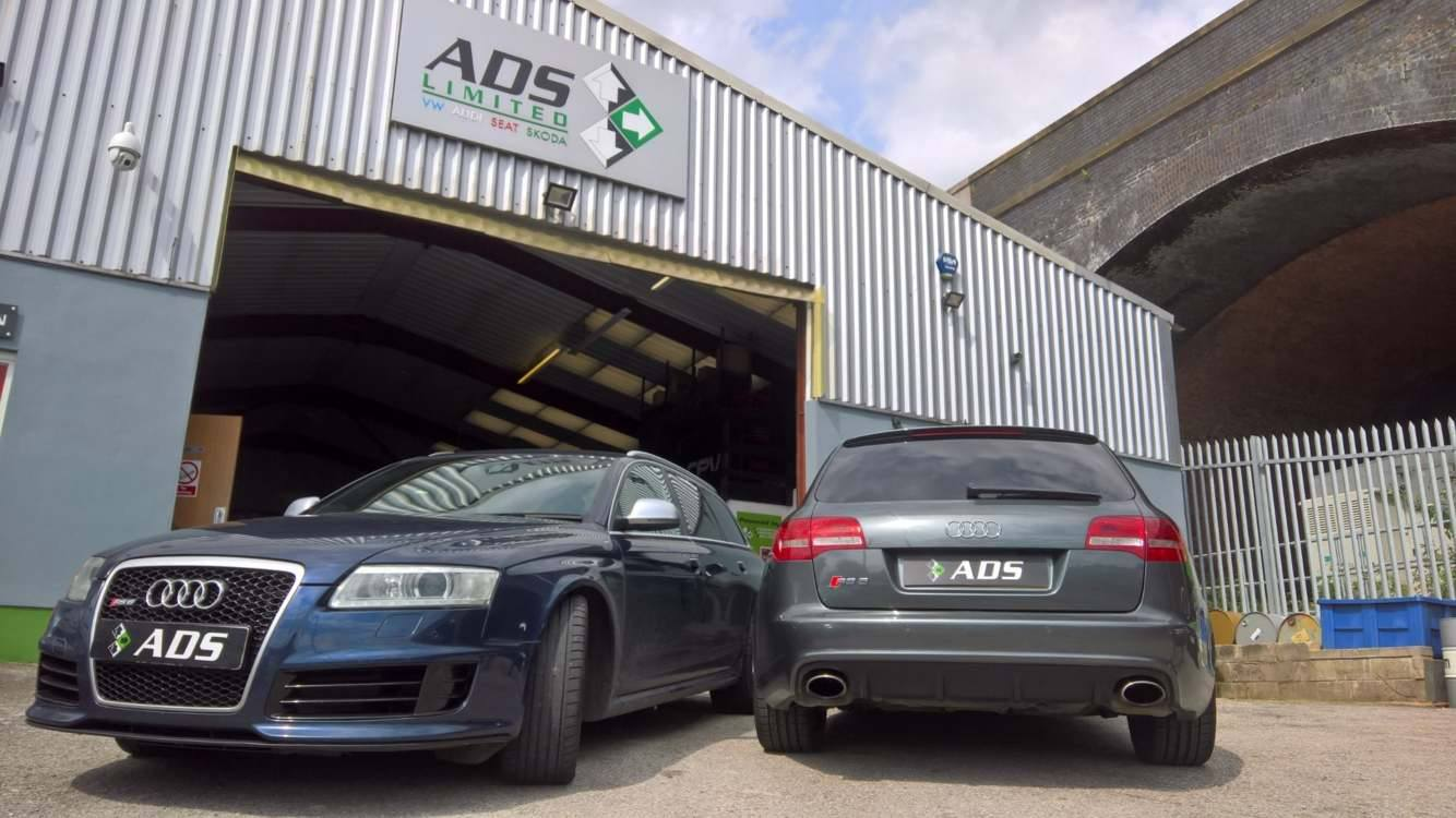 Audi approved garage Preston carries out software upgrade on C6 RS6