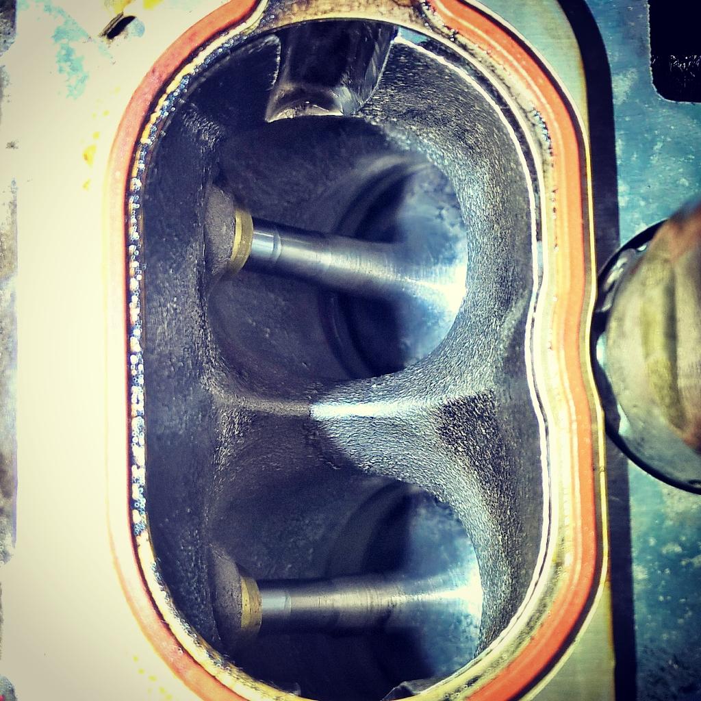 Inlet Valve Cleaning Tunap Bead Blasting