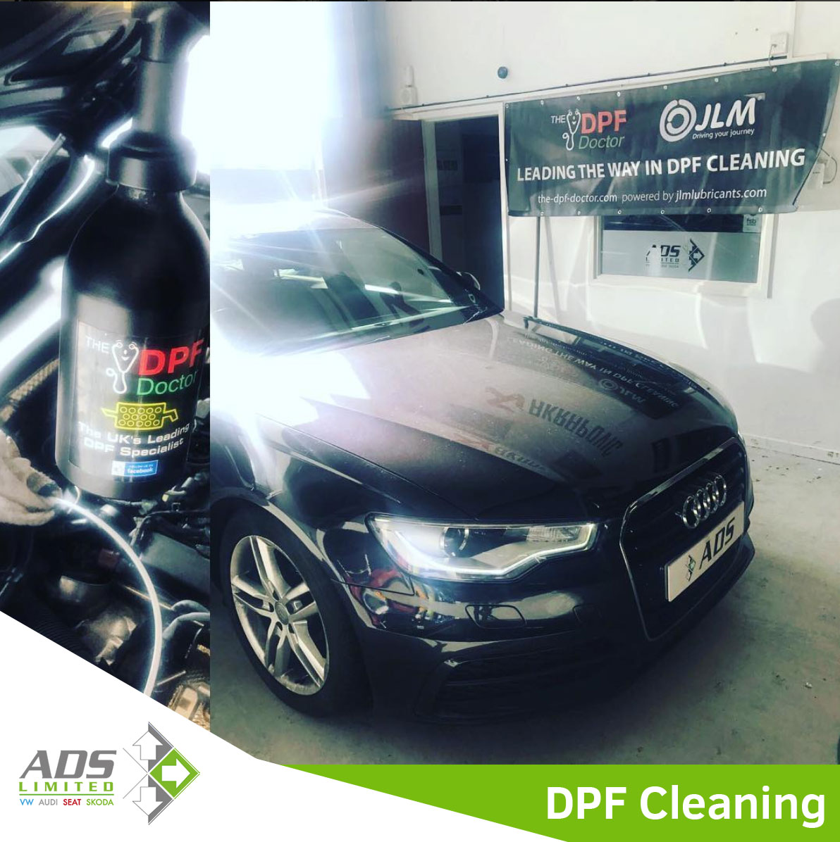 Audi DPF Cleaning Preston