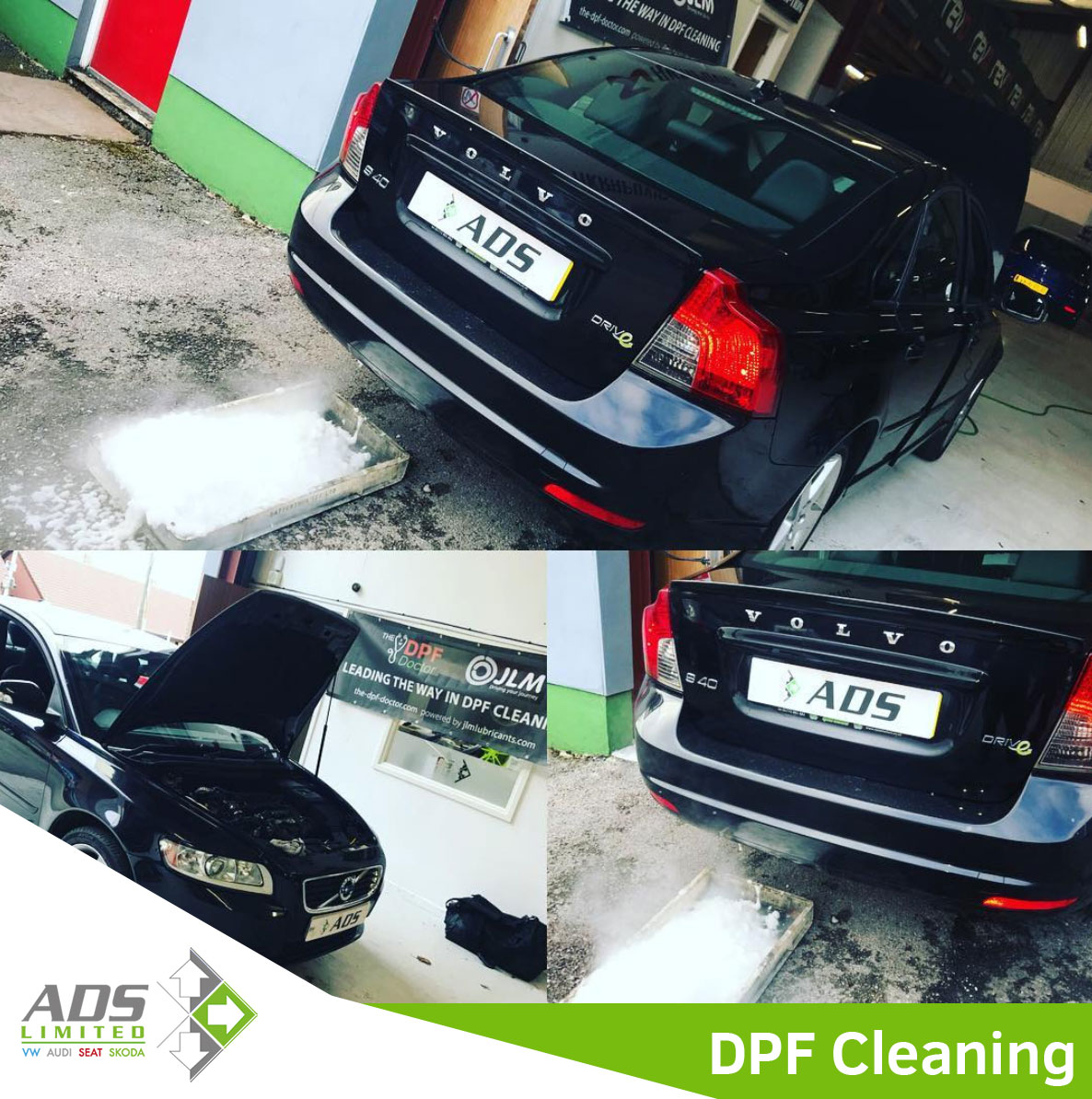 Volvo DPF Clean Preston