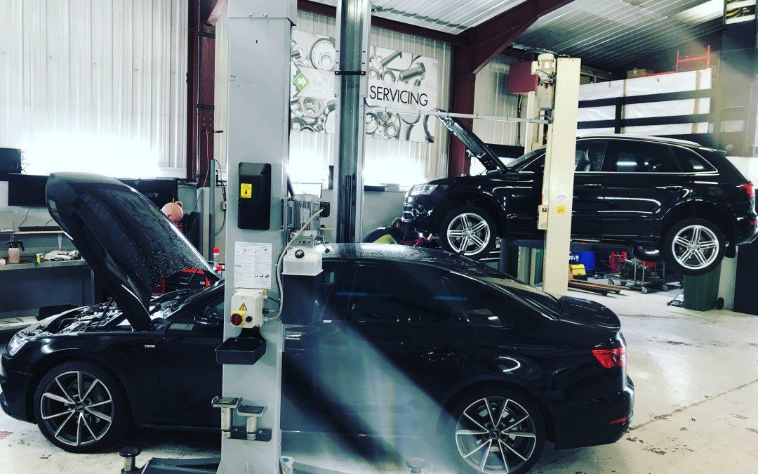 Audi service Preston