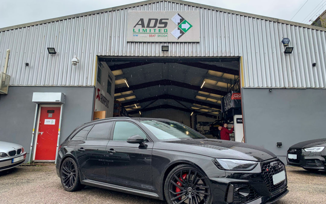 In the Workshop: 2020 Audi RS4 for Stage 1 ECU Remapping
