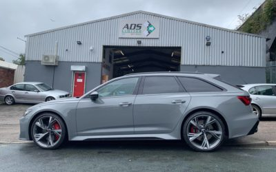 In the Workshop: 2020 Audi RS6 for Service Scheduling